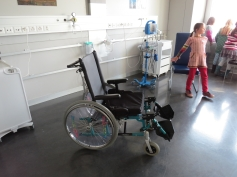 Natürlich war der Rollstuhl ein Höhepunkt / Of course, the wheel chair was a highlight