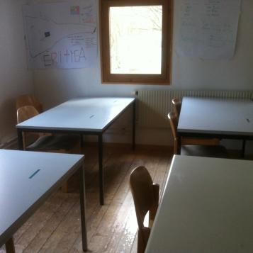 Das zweite Schulzimmer / The second classroom