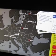 Wie kommt man am Schnellsten von Bergün nach Moskau? / How do you get to Moscow the fastest?