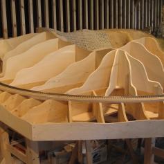 Zuerst Holz / First wood