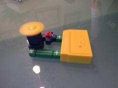Selber gebauter elektrischer Motor / Self-made electrical motor