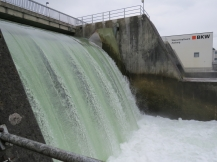 Auf der anderen Seite der Mauer / On the other side of the dam