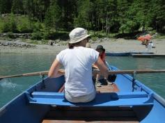 Ruderboot fahren / Row boats
