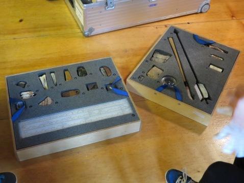Archäologie Koffer zum Ausleihen / Archaeology suitcase to borrow