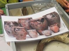 Steinzeitliche Gefässe / Neolithic pots