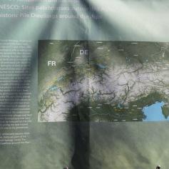 Wo in Europa Pfahlbauten gefunden wurden / Where stilt houses were found in Europe