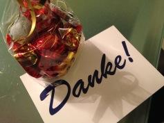 Und Schokolade für die Postbotin / And chocolate for our mailwoman