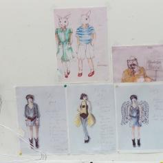 Designte Kostüme / designed costumes