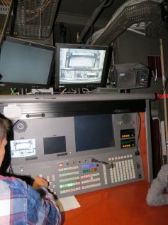 Technischer Leiter des Theaters / Technical director of the theater