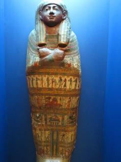 Sarg eines Priesters / A priest's coffin