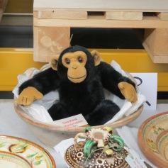 Woher kommt denn plötzlich der Affe? / Where does that monkey suddenly come from?
