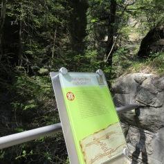 Schatzsucher-Tafel / Treasure hunt sign
