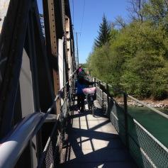 Abenteuerliche Zugbrücken / Adventurous railway bridges
