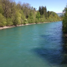Die schöne Aare / Beautiful river Aare