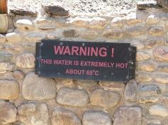 Die heissen Quellen von Ai-Ais / The hot springs of Ai-Ais