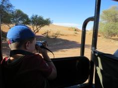 Im Einsatz in der Wüste / Ready for action in the desert