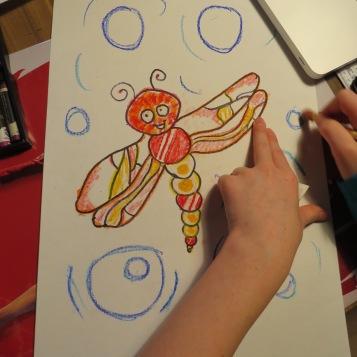 Schnüselis Libelle / Honeybunny's dragonfly