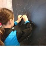 Mit beiden Händen gleichzeitig zeichnen / Drawing with both hands at the same time