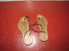 Sandalen für im Bad / Sandals for in the bath