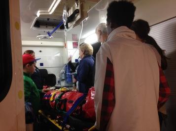 In der Ambulanz / In the ambulance