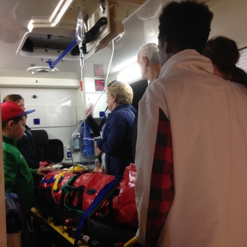 In der Ambulanz / In the ambulance
