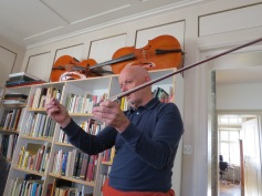 Bögen machen sie nicht, ist eine Kunst für sich! / They do not make bows, that's an art all by itself!