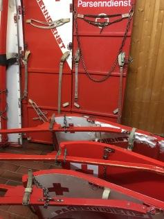 Rettungsschlitten / Rescue sleds