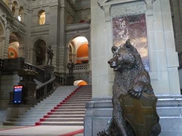 Die Bären beim Eingang