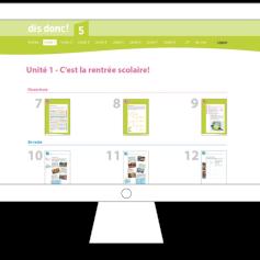 Die Online-Lernplattform
