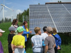 Imposante Solaranlagen