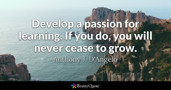 passion learning