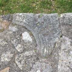 Ein eingebauter römischer Stein