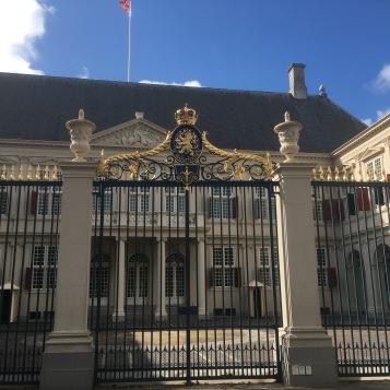 Arbeitspalast von König Willem Alexander